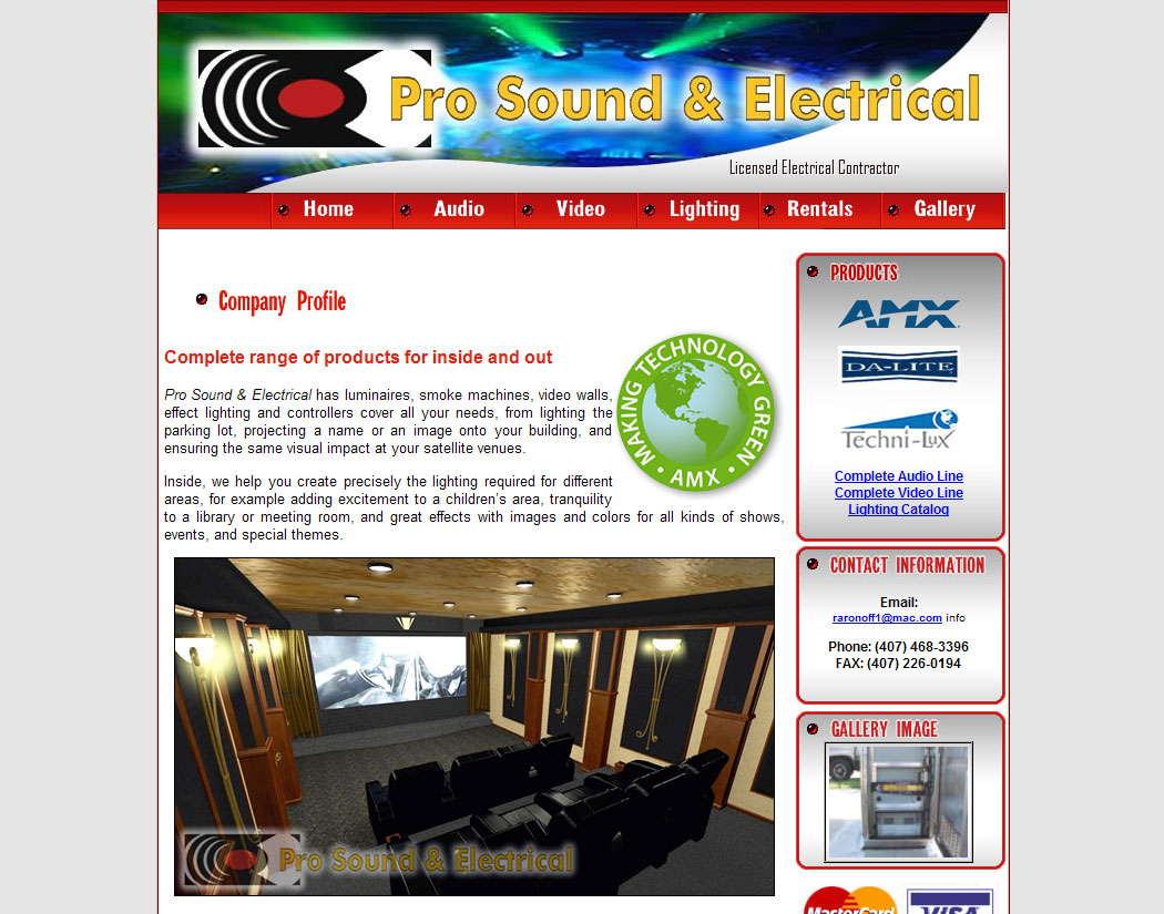 Pro Sound & Electrical