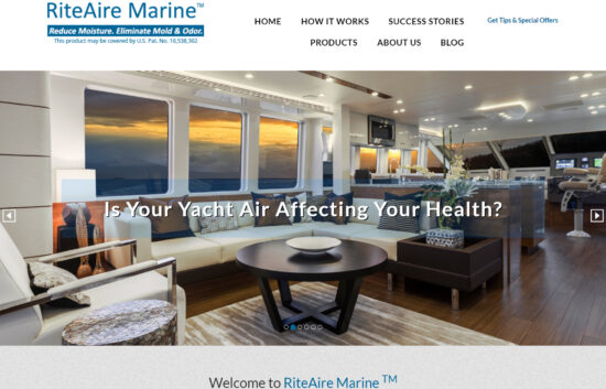 RiteAire Marine Home Page