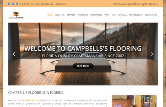 Campbell's Flooring Home Page